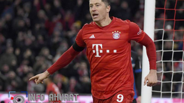 Robert Lewandowski: Striker Bayern Munich absen selama empat minggu karena cedera