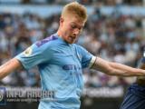 Pelatih Belgia Martinez yakin De Bruyne berkomitmen untuk Man City