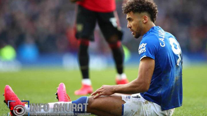 Dominic Calvert-Lewin cemerlang Reaksi untuk menonton gol yang dianulir Everton vs Man United