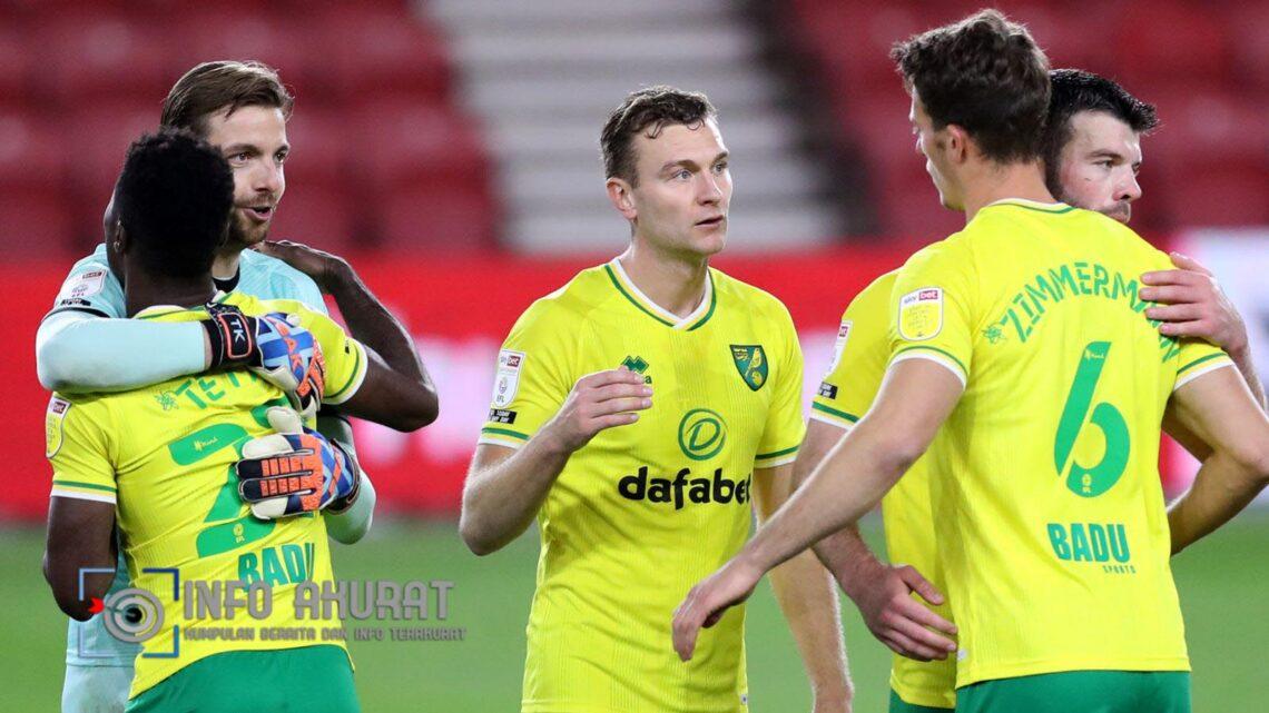 Sorotan dan ringkasan kejuaraan: Norwich menjadi yang teratas