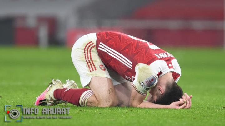 Tierney bersiap untuk menjalani pemindaian saat Arsenal merasakan ketidakhadirannya di jalan buntu