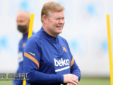 Bos Barcelona Koeman memuji koneksi Depay-Griezmann setelah kesuksesan Stuttgart